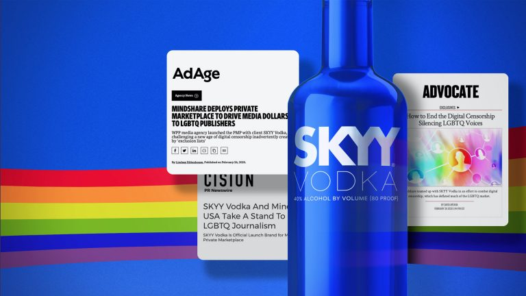 Supporting Queer Voices: Mindshare & Skyy Vodka